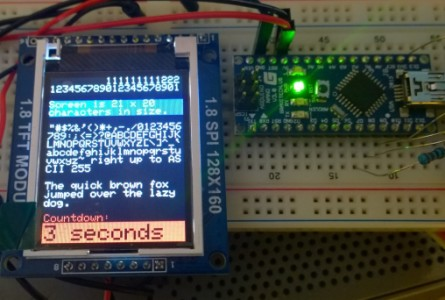 Arduino TFT Color Clock: 4 Steps with Pictures